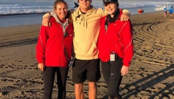 Lifeguards' CPR saves life after man collapses at TSB Nationals