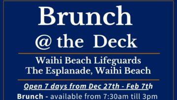Brunch @ The Deck